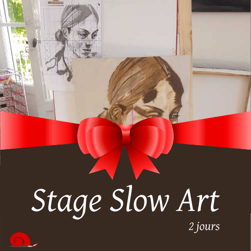 Bon cadeau stage slow art